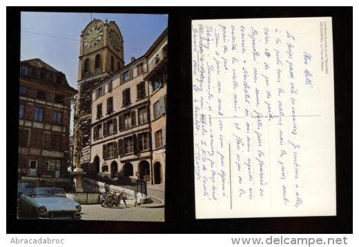 Carte Postale Neuchatel - La Tour De Déesse - NE Neuchâtel