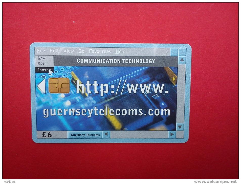Phonecard Guernsey Used - Ver. Königreich