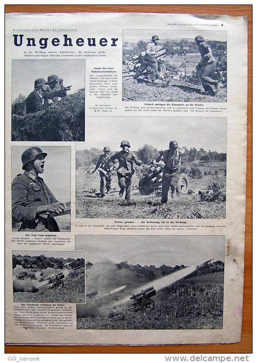 Hamburger Illustrierte No. 42 / Germany WWII /23 October 1943 - Deutsch