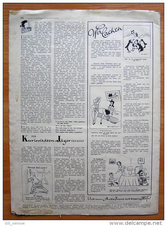 Hamburger Illustrierte No. 42 / Germany WWII /23 October 1943 - Zeitungen & Zeitschriften