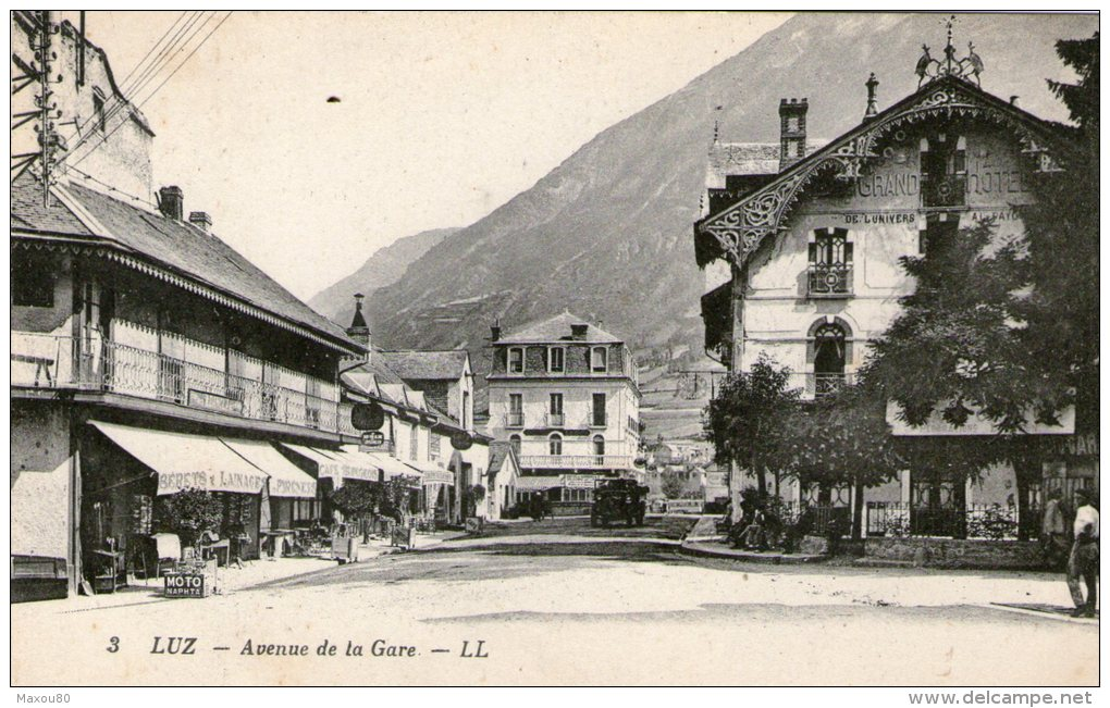 LUZ - Avenue De La Gare - - Non Classés