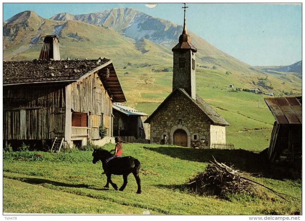 France - C P M---74---GRAND-BORNAND---le chinaillon la chapelle et ...