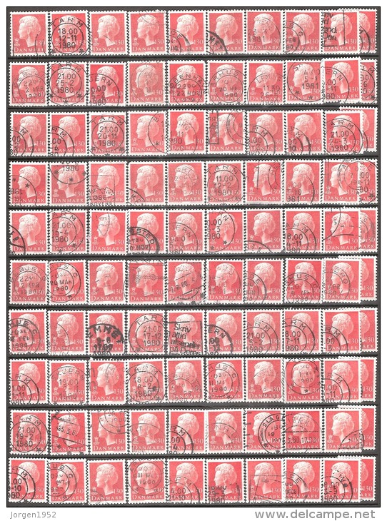 DENMARK # STAMPS FROM YEAR 1979 (Stamping, Cities, And Study) - Dinamarca