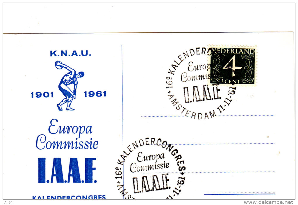 FDC  EUROPA   1961 - 1961