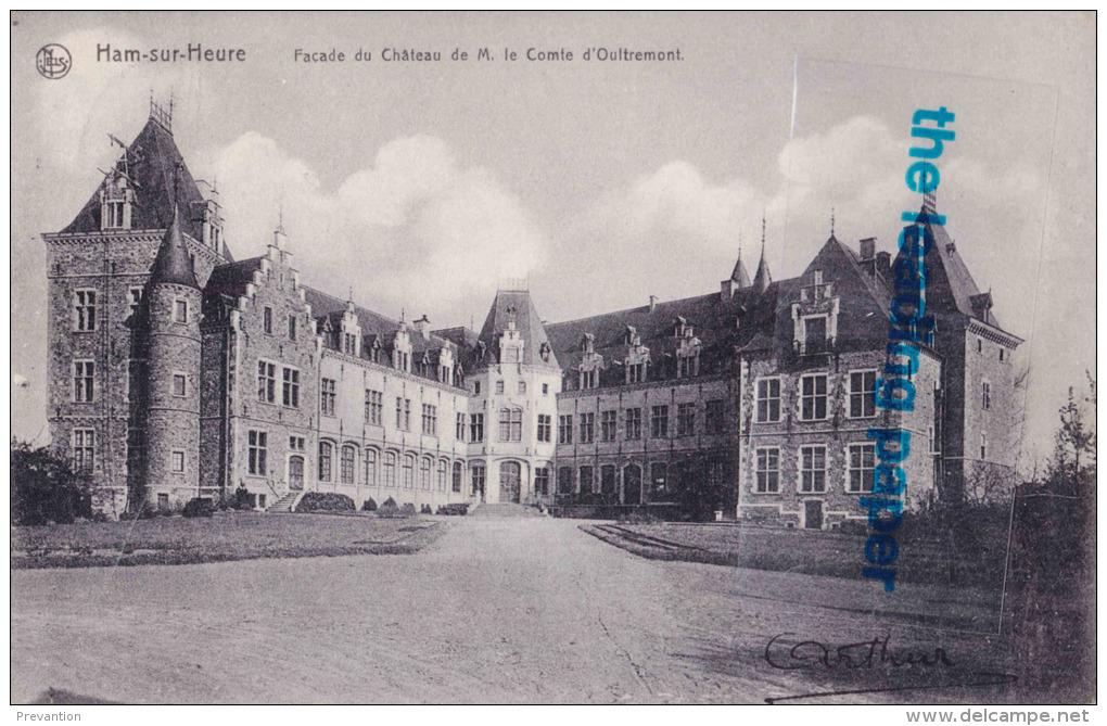 HAM-SUR-HEURE - Façade Du Château De M. Le Comte D'Oultremont - Ham-sur-Heure-Nalinnes