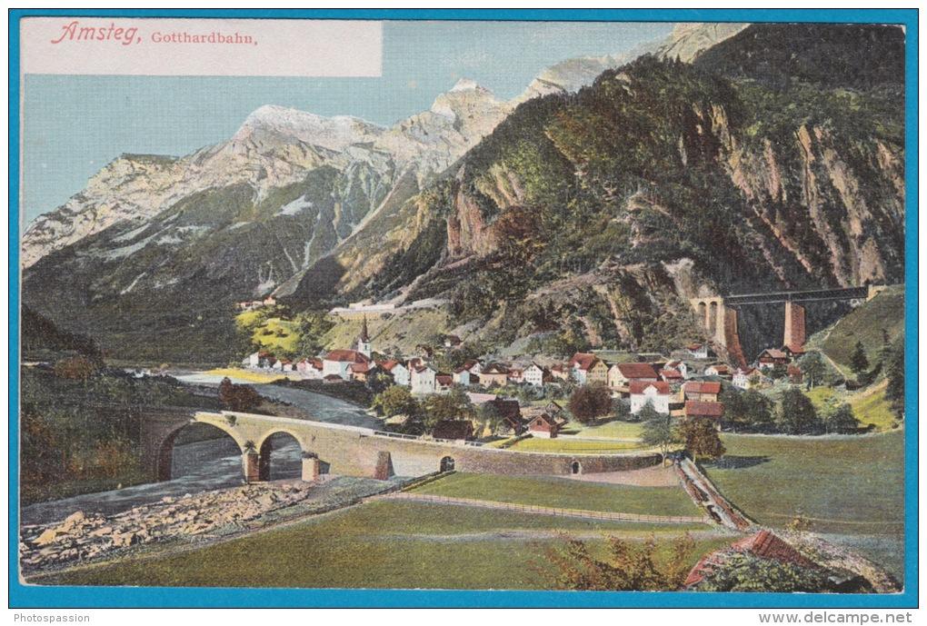 Amsteg - Gotthardbahn - Ouvrages D'Art