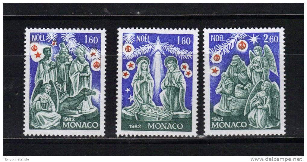 Monaco Timbres De 1982 Neufs** N°1352 A1354 - Monaco