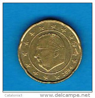 BELGICA / BELGIQUE # EUROS #  20 Cents - Centimos De Euro 2004 - Bélgica