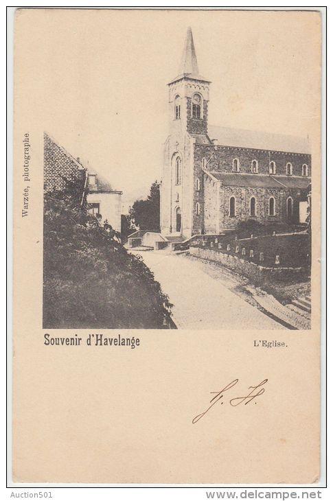 19636g EGLISE - Havelange - Havelange