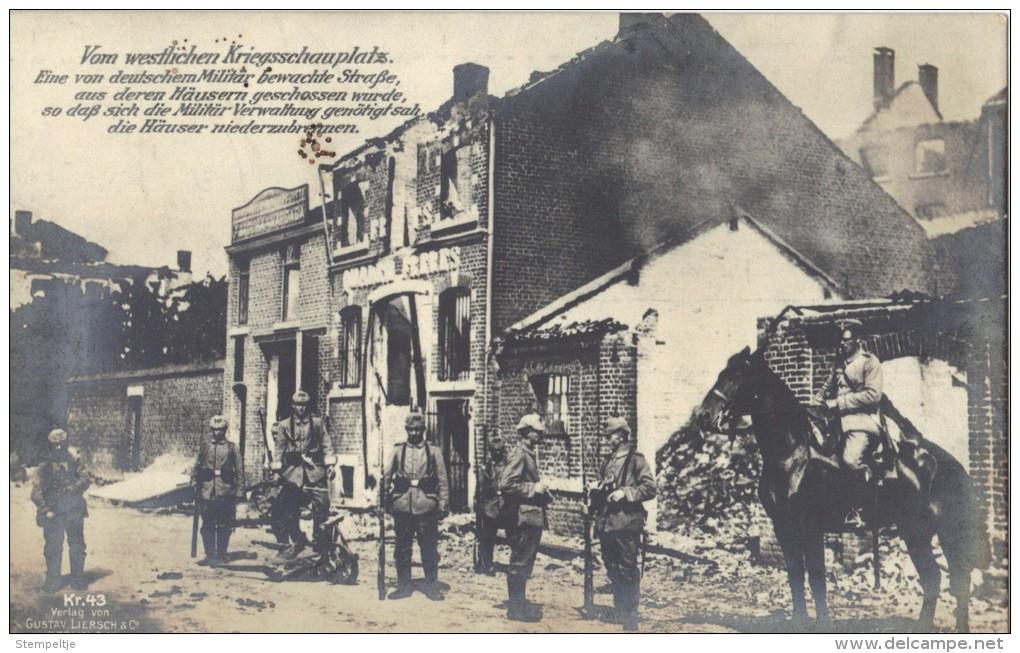 KRIEGSKARTE                     WEST FRONT   ????????? - Guerre 1914-18