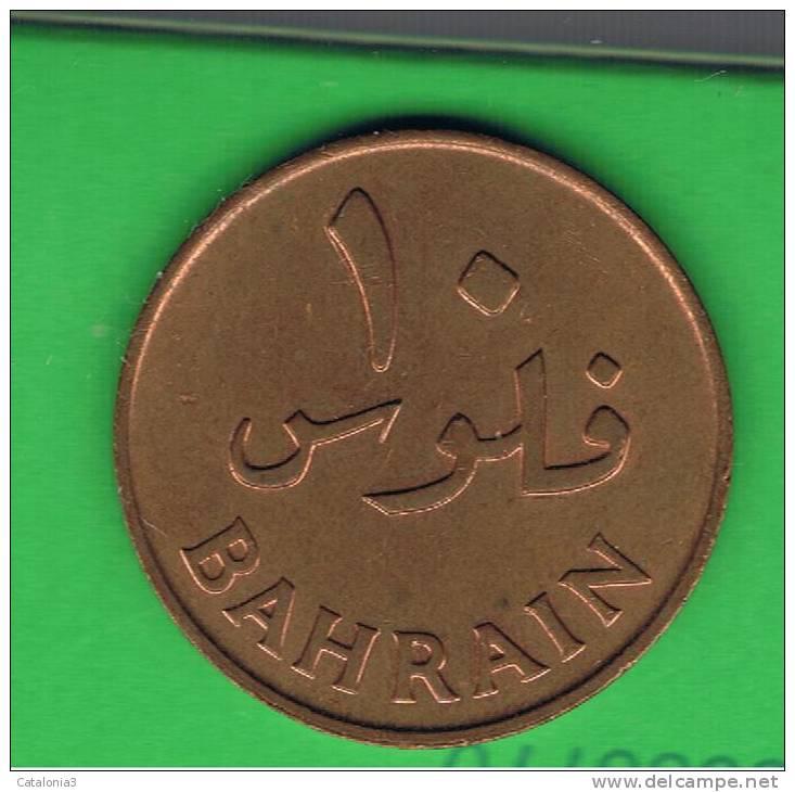 BAHRAIN -10 Fils 1965  KM3 - Bahreïn