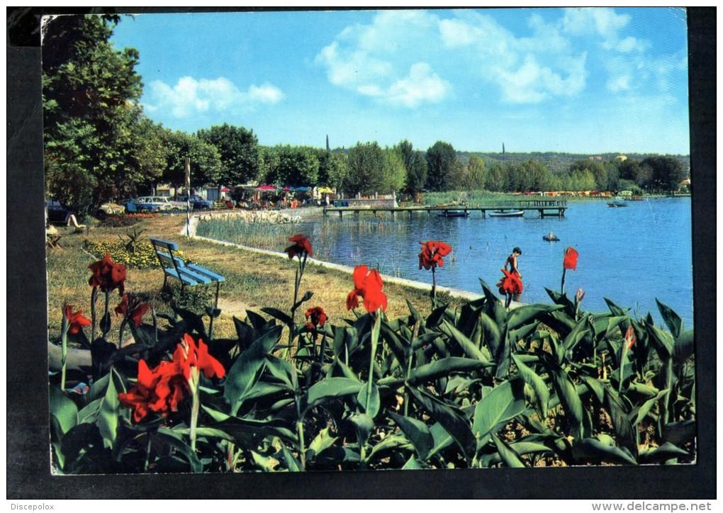 F1226 Località Sul Lago Annullata Provincia Di Verona Non Classificata - Used 1964 - Ed. Franceschi - Autres Villes