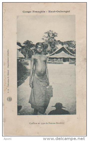 HAUT OUBANGUI ( Coiffure Et Types Bandziri ) - Congo - Brazzaville