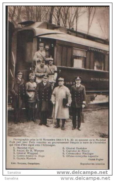Wagon Marechal Foch - Guerre 1914-18