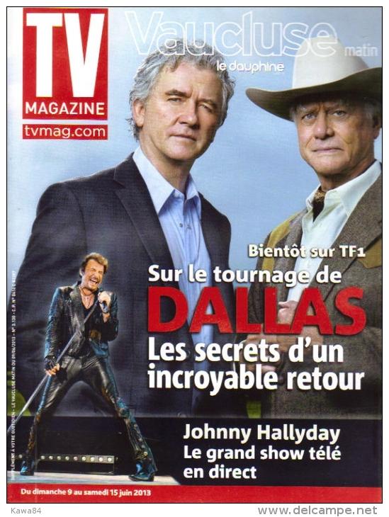 """Johnny Hallyday  """"  TV Magazine  """" - Gente"""
