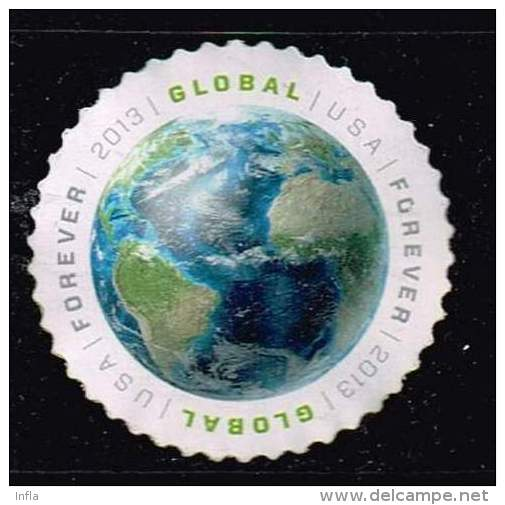 USA 2013, Michel #  O Global Mail - Used Stamps