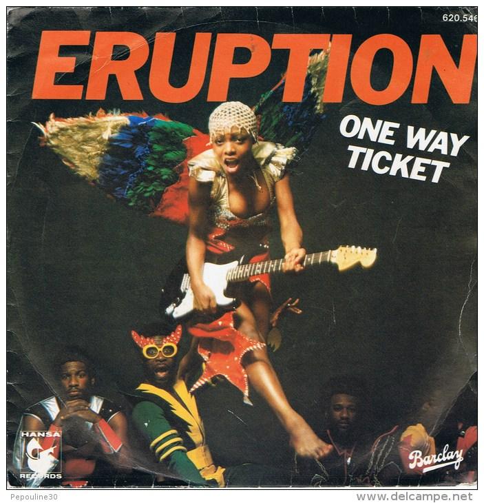 ERUPTION  - (A) - One Way Ticket   // (B) - Left Me In The Rain. - 1979 -. - Disco, Pop