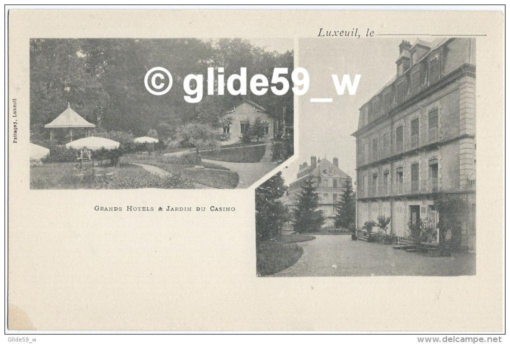 LUXEUIL - Grands Hôtels & Jardin Du Casino - Luxeuil Les Bains