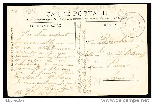 95 FONTENAY EN PARISIS / Fontenay Les Louvres, Rue Principale / - Autres Communes