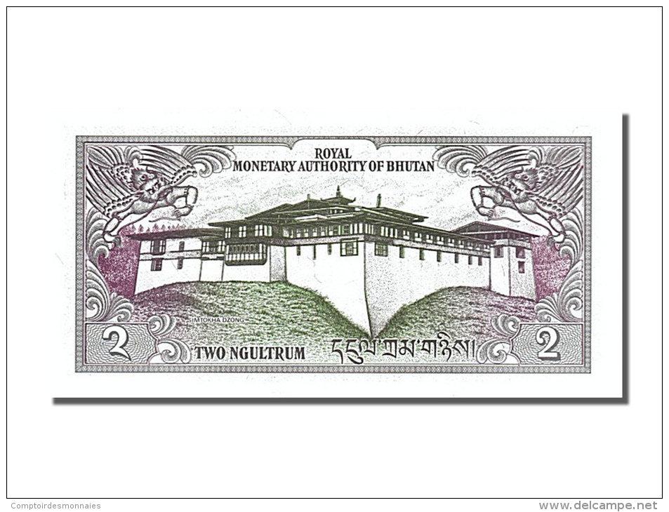 [#253504] Bhoutan, 2 Ngultrum, Type 1981 - Bhoutan