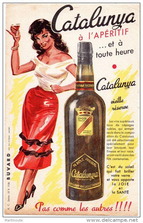 - BUVARD CATALUNYA à L´apéritif - 387 - Liquor & Beer