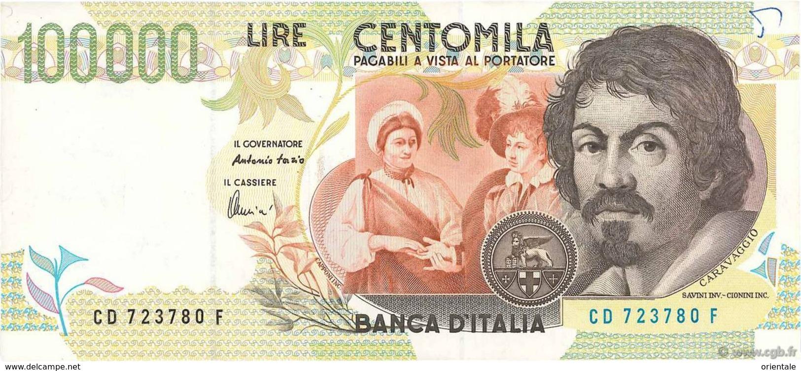ITALY P. 117b 100000 1998 UNC - [ 2] 1946-… Republik