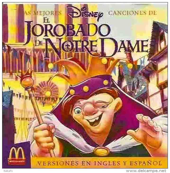 CD Banda De Sonido El Jorobado De Notre Dame - Children