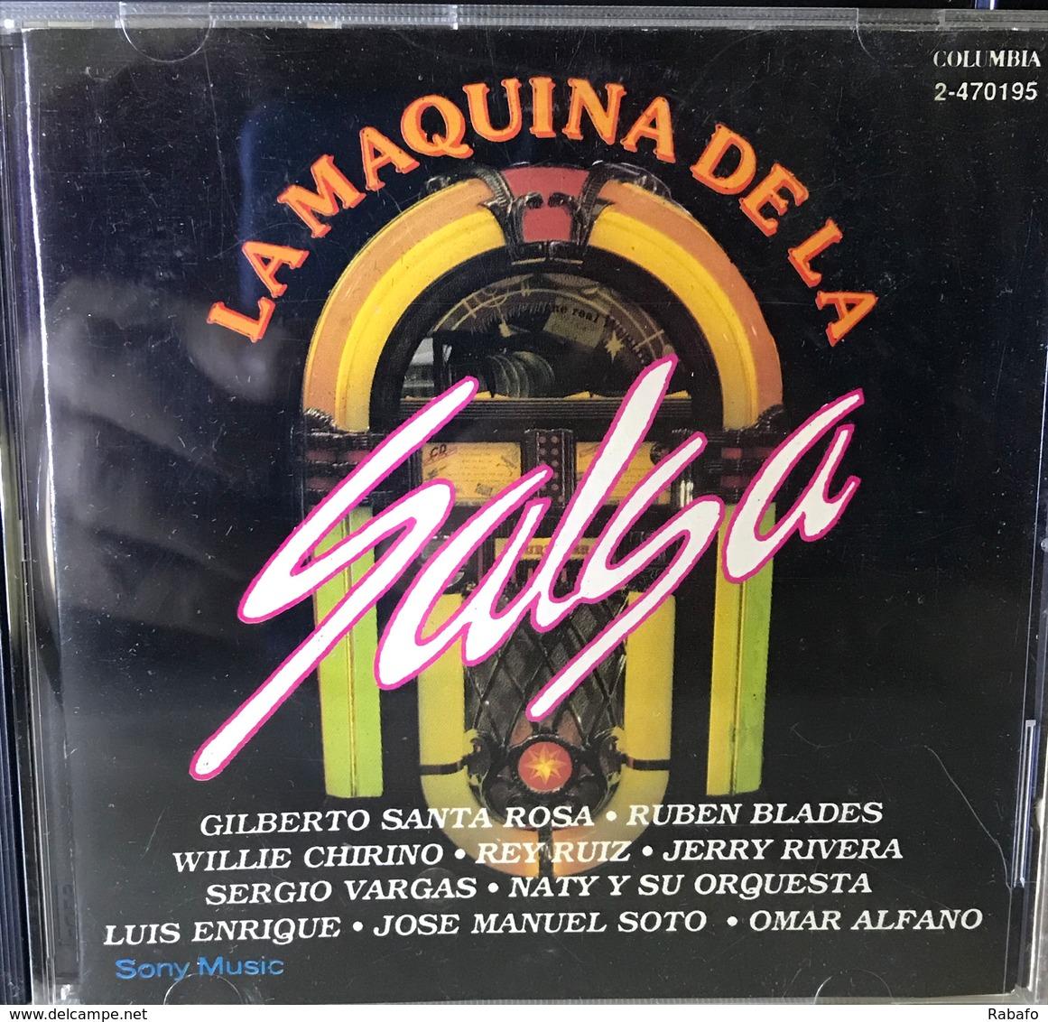 CD De Artistas Varios La Maquina De La Salsa - Musik & Instrumente