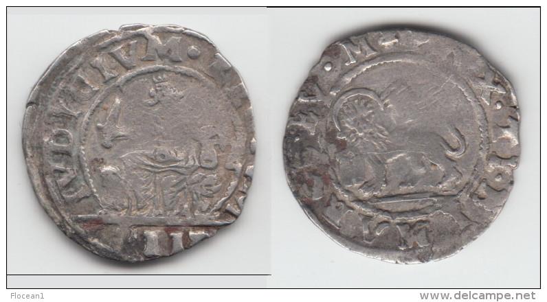 **** ITALIE - ITALIA - VENISE - VENEZIA - 2 GAZETTE ALVISE MOCENIGO I (1570-1577) - SILVER - ARGENT *** ACHAT IMMEDIAT ! - Regional Coins
