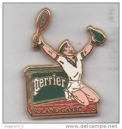 Arthus Bertrand  , Perrier , Tennis Roland Garros 93 - Arthus Bertrand