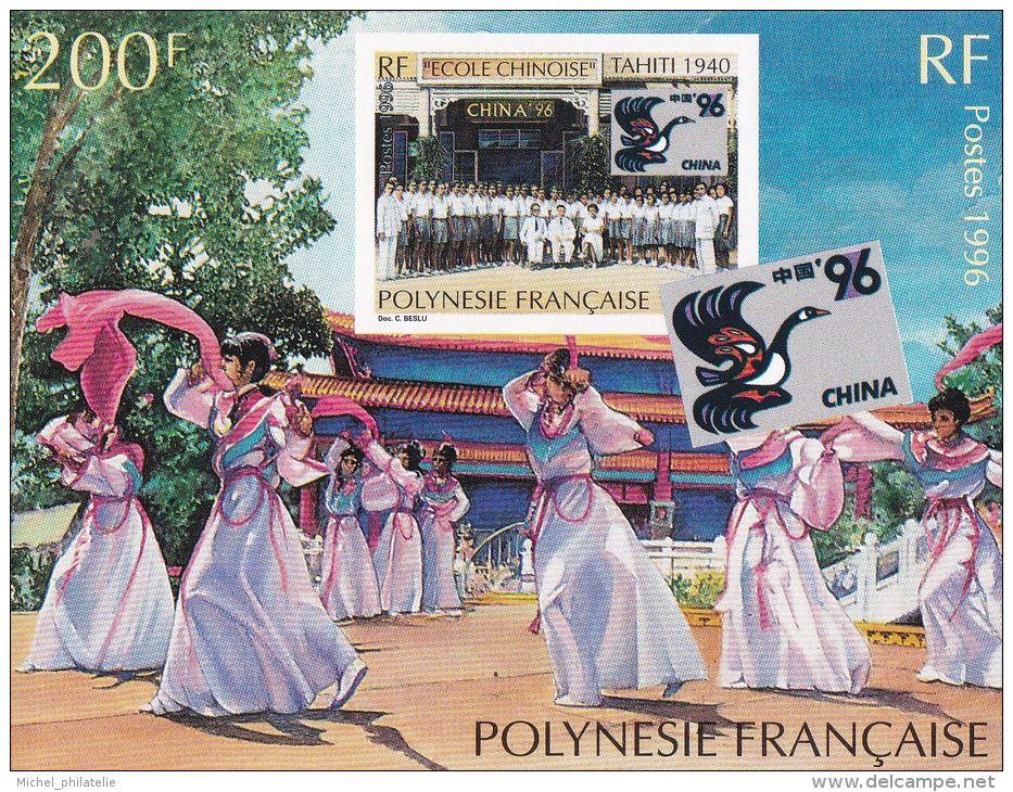 Bloc Feuillet N°21** CHINA 96 - Blokken & Velletjes