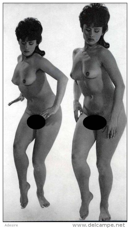 AKT EROTIK NUDE, Aktmodel Nackte Frau, Photokunst, Foto Großformat In Karton Passepartout Ca 28,5 X 20,5 Cm, Fotoformat - Fine Nude Art (1941-1960)