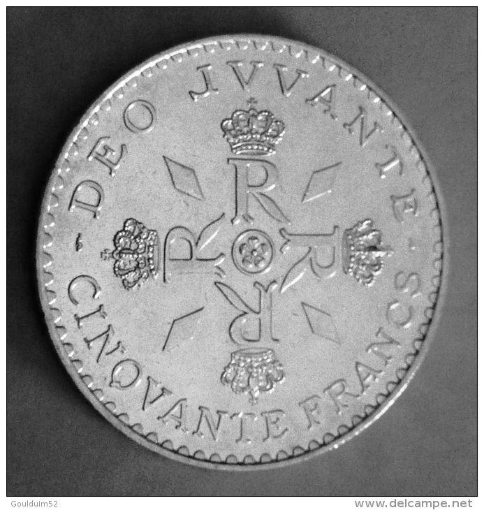 50 Francs 1974 Monaco Rainier III - Monaco