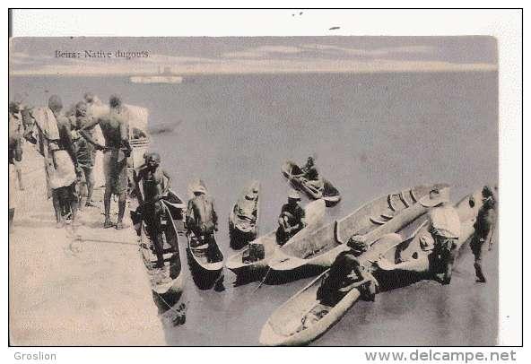 BEIRA NATIVE DUGOUTS 441 14 - Mozambique