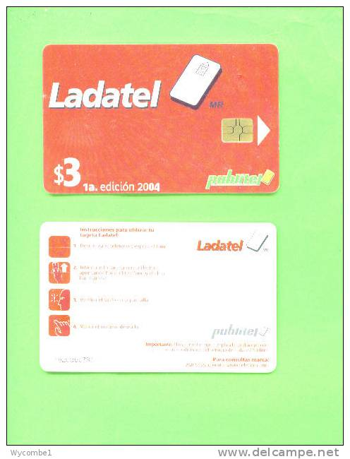 EL SALVADOR - Chip Phonecard/Ladatel - El Salvador