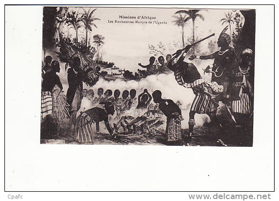 Les Bienheureux Martyrs De L'Uganda - Oeganda