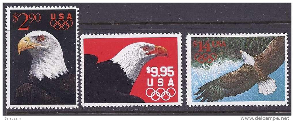 UnitedStates1991:Scott2540-2 (Michel2147,2154,2168)mnh** - United States