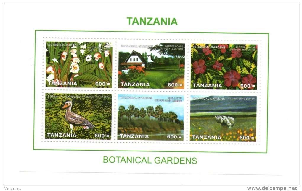 Tanzania - Botanical Gardens,  M/S, MNH - Plants