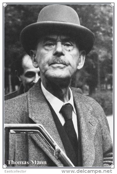 NOBEL PRIZE WINNERS Thomas Mann Stamped Card 0951-3 - Nobel Prize Laureates