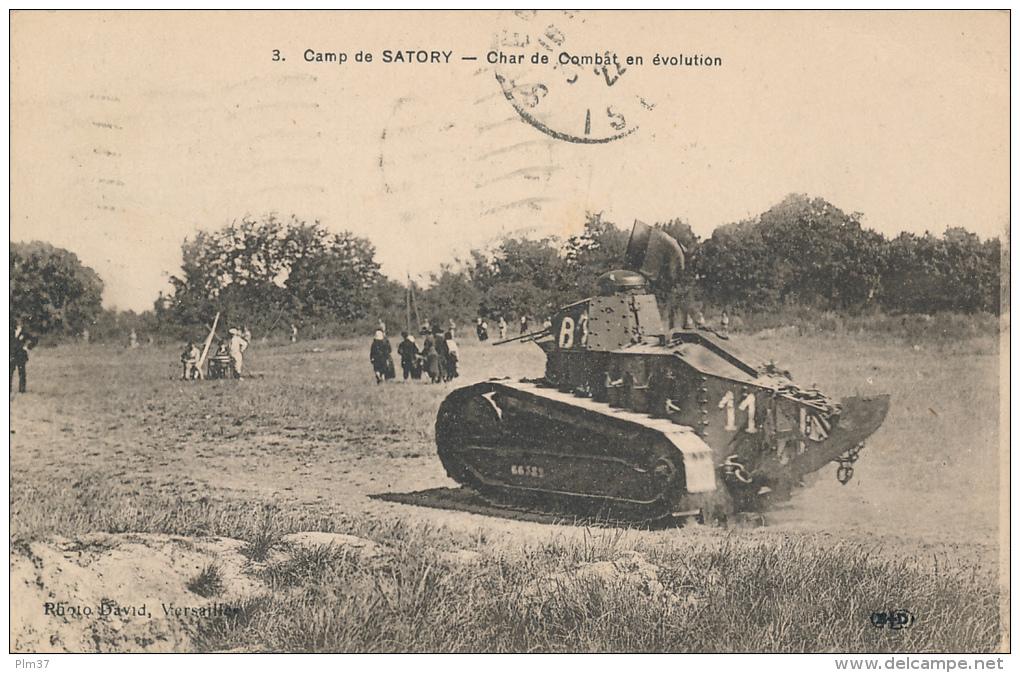 Camp De Satory - Char De Combat - Versailles
