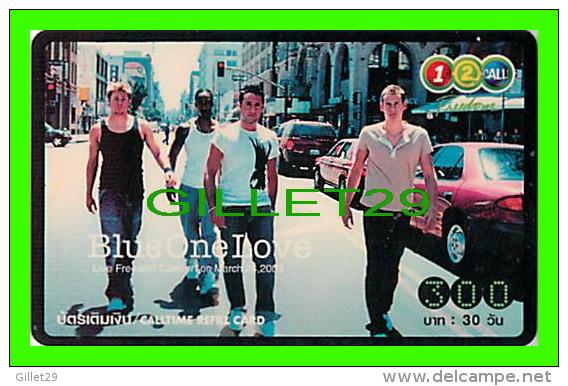 TÉLÉCARTES THAILANDE - BLUE ONE LOVE - 300 BAHT - JUNE/2005 - PHONECARDS THAILAND - - Phonecards