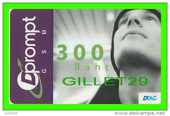 TÉLÉCARTES THAILANDE - DPROMPT GSM - 300 BAHT - JUNE/2004 - PHONECARDS THAILAND - - Autres - Asie