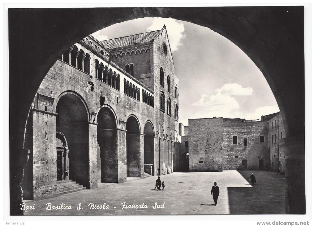 Bari - Basilica Di San Nicola - Fiancata Sud - H1497 - Bari