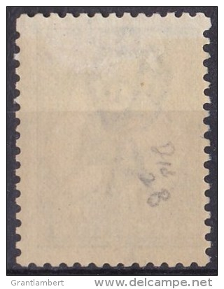Australia 1916 Kangaroo 1 Shilling Blue-Green 3rd Wmk MH - Variety - Mint Stamps