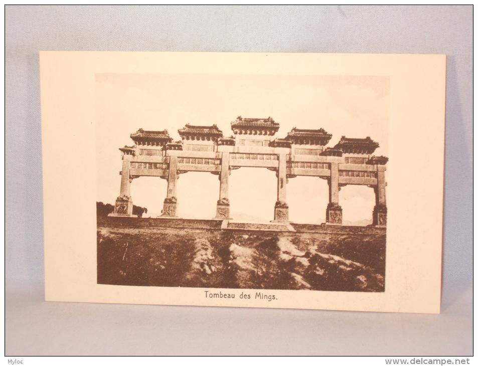 Chine/China. Tombeau Des Mings. - Chine