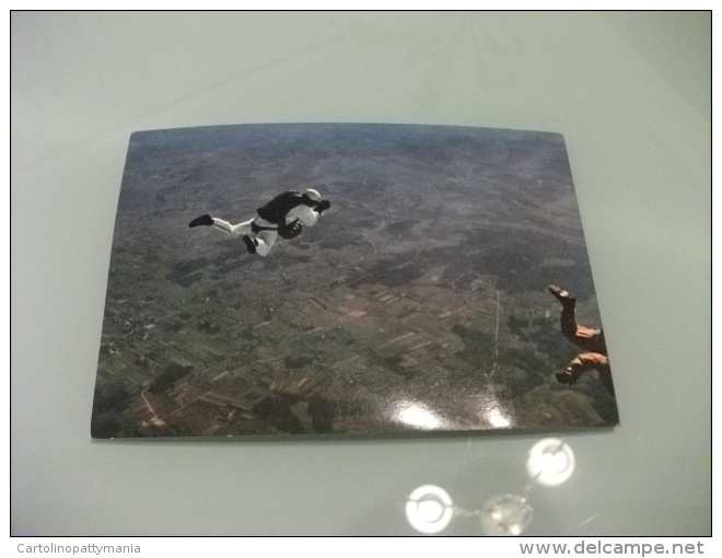 Paracadutista In Volo Ed. C.d.b. Livorno - Paracadutismo