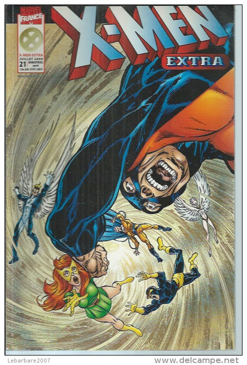 X-MEN EXTRA  N° 21  -   MARVEL FRANCE  2000 - Marvel France