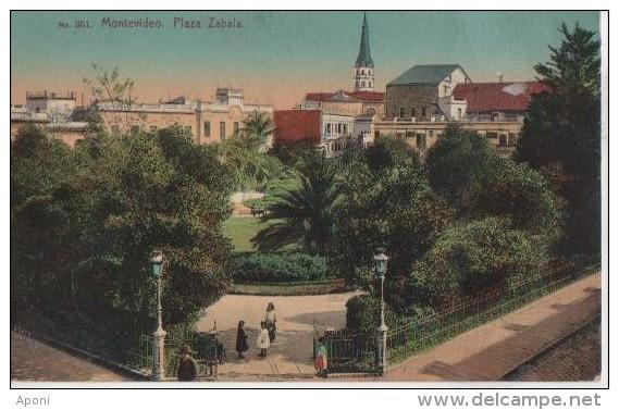.MONTEVIDEO ( Plaza Zabala ) - Uruguay