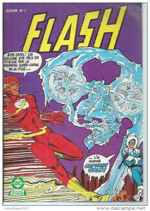 FLASH  Reliure N° 1 ( N° 1 + 2 )  - AREDIT 1983 - Flash