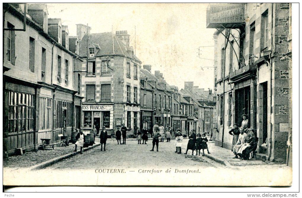 N°35488 -cpa Courterne -carrefour De Domfront- - Frankreich